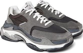 Gray Triple And Balenciaga Sneakers Leather Mesh S Nylon f0APqFwPnR