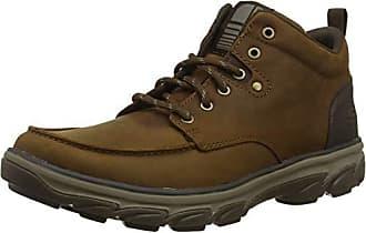 marrone Skechers scuro Marrone Eu For Resment 43 Cdb Men Boots Chukka qwqPraY
