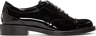 Reeve Chaussures London Verni Oxford Cuir En Jimmy Choo Noires Of8wqnz