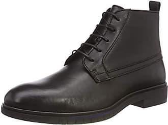 Para Eu Leather Dressy Flexible Tommy Boot Negro Botas 41 Hombre 990 Desert Hilfiger black x0wZZB