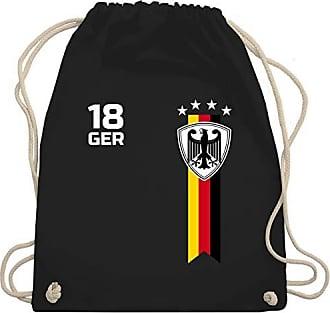 Wm110 2020 Shirtracer Bag shirt Schwarz Fan amp; Wm Unisize Turnbeutel Fußball Deutschland Gym europameisterschaft 6wqwT1