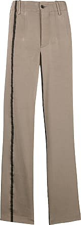 Stripe Contrast Trousers Wang Gris Uma EH8q4xv