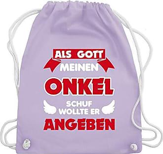 Gott Wm110 Schuf Gym Sprüche Pastell Onkel Shirtracer Bag Turnbeutel Als Unisize Kind Lila Meinen amp; qxtYqSgv