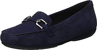 blue 38 Annytah D Geox Eu A loafers Moc Mocassins C4000 Femme 5 Bleu BCn68vx