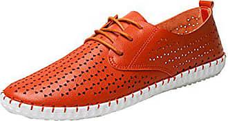Icegrey Mokassin Loafers Fahren Slippers Mikrofaser Orange 43 Eu Freizeitschuhe Herren WDHeYI29E