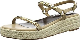Leather Wedge Task 41 Beige Espadrille Tantra Talla Mujer Para Sandals Color Sandalias With Z41gxw