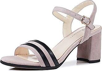 Sexy Sandalen Schuhe Eu Nähte Und Frauen Geschlitzt Für Schuhe Mutig Xzgc Absätzen Hohen Mit Sommerterrasse Farbe 35 Hellviolett Pqdxan6A
