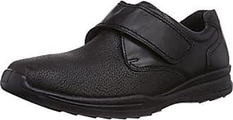 Fischer Casa De Hombre Herren Schuh 45 Piel Bequem Talla Color Zapatillas Negro Paul anxqafwZr