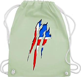Pastell Shirtracer amp; Wm110 Bag Unisize Gym Island Länder Grün Turnbeutel Krallenspuren wRnBqI1xRP