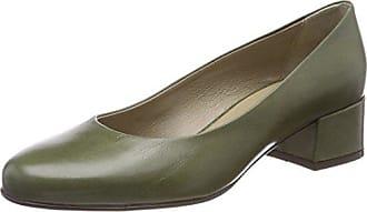 38 Cerrada Tacón Nukika Eu Zapatos Mujer Pump Antwerp De 5 Con Noë 622 Punta Verde moss Para X8fq6U