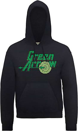 Sweat Arrow Shirt Dc0000116 Dc Logo Comics Official Green Capuche À xITRwY1q