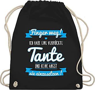 Kind Habe amp; Ich Gym Wm110 Sprüche Eine Bag Verrückte Turnbeutel Schwarz Tante Shirtracer Blau Unisize UtT5wqE77