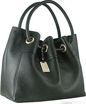 Carbotti handtaschen Leder Schwarz Größe Shopper wH6qr5Pxw