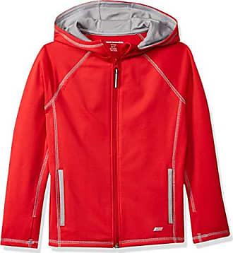 10 Amazon Jacket Chaqueta Active L zip Red Essentials Full 88a14