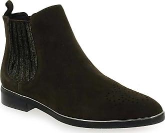 Jb Pour 2fango Vert Femme Martin Boots 88qH4v