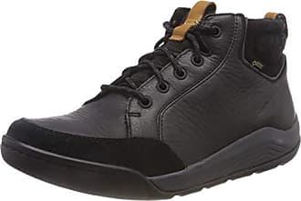 Eu Clarks Bottes 41 Noir black Homme Ashcombemidgtx Leather Chelsea 6zg8q