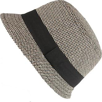 Hawkins Beige Tweed Cloche Hat
