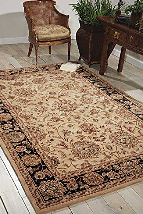 Nourison Nourison 2000 (2207) Beige Rectangle Area Rug, 3-Feet 9-Inches by 5-Feet 9-Inches (39 x 59)