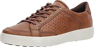 Ecco Mens Soft 7 Sneaker, Whisky Retro Perforated, 39 EU / 5-5.5 US