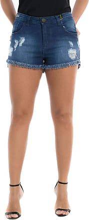 Eventual Shorts Jeans Eventual Mid Drop Azul 38