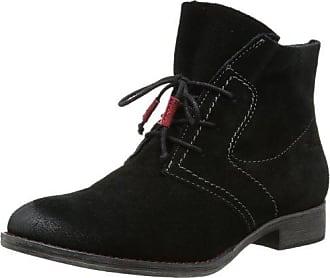 813ef9700d28be Tamaris Damen Trend Desert Boots Schwarz (Black 001) 41 EU