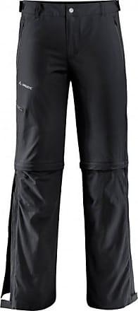 Vaude Farley Stretch T-Zip Pants II Trekkinghose für Herren | schwarz
