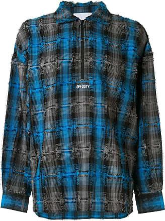 Off Duty Camisa xadrez - Azul