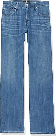 7 For All Mankind Mens Austyn Relaxed Fit Straight Leg Pant Jeans, Highland, 34W x 33L