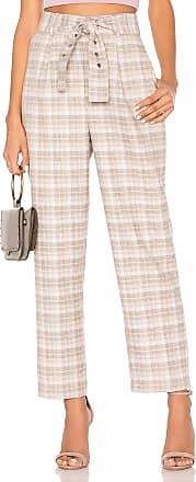 J.O.A. Self Tie Belt Trouser in Beige