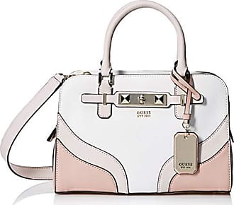 Guess Cherie Multi Small Girlfriend Satchel, White
