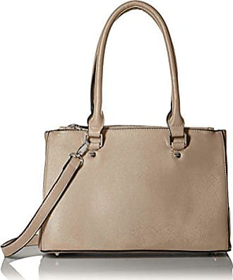 Society New York Womens Satchel Bag, Taupe