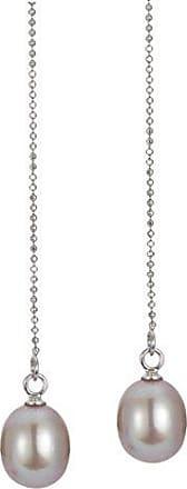 f043f709fd80 Adriana Adriana la Mia Perla Mujer Pendientes de Premium Natural 925 plata  rodiada perlas de agua