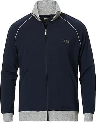 BOSS Loungewear Full-Zip Sweater Navy