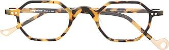 Eyepetizer Armação de óculos tartaruga Bristol - Marrom