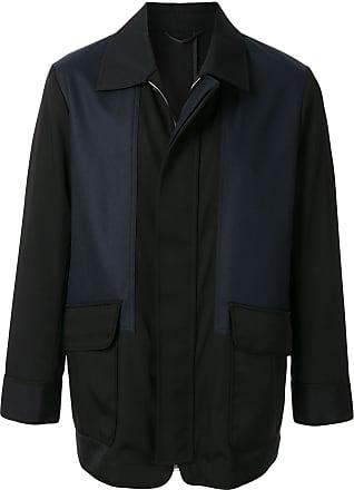 Cerruti colour-block lightweight jacket - Black