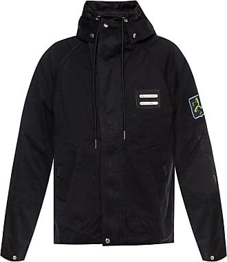 Diesel Raw-trimmed Jacket Mens Black