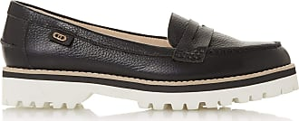 Dune London Dune Ladies Womens GUINNEA Low Heel Loafer Size UK 7 Black Flat Heel Loafers