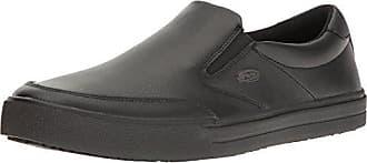 Dr. Scholls Mens Manifest Work Shoe, Black, 8 M US