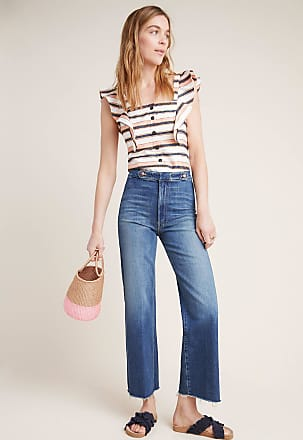 Mother The Loop De Loop Ultra High-Rise Flare Jeans