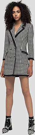 Msgm houndstooth print double-breasted dress