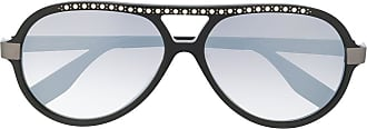 Karl Lagerfeld Óculos de sol aviador Karl Ikon com aplicação - Preto