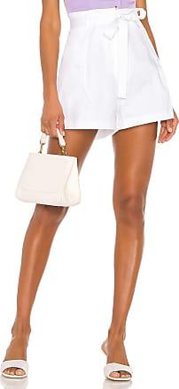 Bcbgmaxazria Tie Waist Short in White