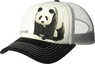 The Mountain Mens Polar Bear Protect My Home Hat, White, Adjustable