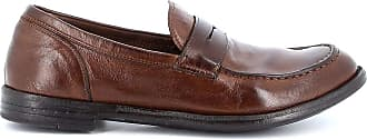 Officine Creative Fashion Man OCUARC509IGNIS21352135T Brown Leather Loafers | Spring Summer 20