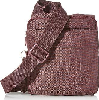 Mandarina Duck Womens Md20 Tracolla Messenger Bag, Purple (Balsamic), 21.5x23x4 Centimeters (W x H x L)