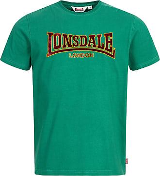 Lonsdale Men T-Shirt Classic, Size:L, Color:Bottle Green