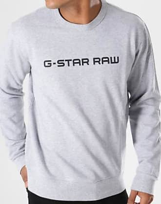 dbc8c825a4ba2 G-Star Sweat Crewneck Loaq D08477-9842 Gris Chiné