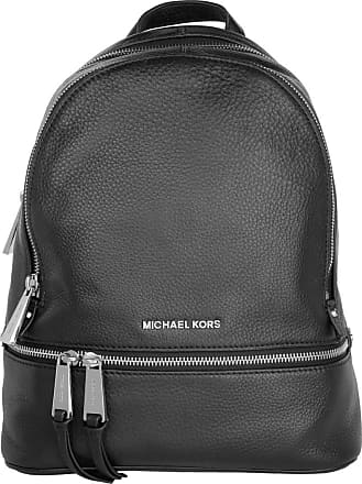 Michael Kors Rhea Zip Medium Backpack Black