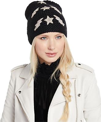 Jennifer Behr Bowie Lightning Bolts   Stars Embellished Beanie Hat d82e43e896d1
