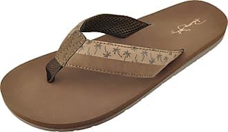 d0e84c29c4dd30 Panama Jack Mens Casual Sandal Flip Flops Brown Size  Medium   8-9 D